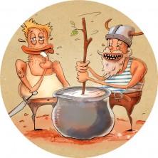 """Kolem roku 50 n. l.  - Zmínky o frozen yogurtu u římského spisovatele Plinia staršího, který píše o """"barbarských kmenech, které umí zahustit mléko v příjemně kyselou hmotu""""."""