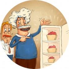 1926 -  Albert Einstein demonstruje účinnost své revoluční lednice na jogurtu, který během ukázky zmrzne. Americký podnikatel německého původu Joseph Eisenberg si toho všimne a začne vyrábět frozen yogurt ve velkém.