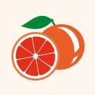 frozen yogurt červený pomeranč