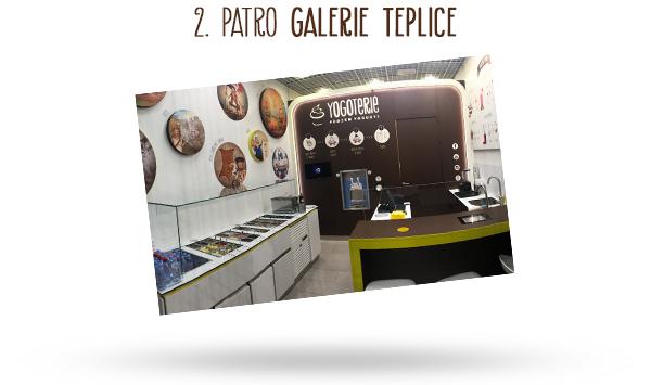 frozen yogurt Galerie Teplice